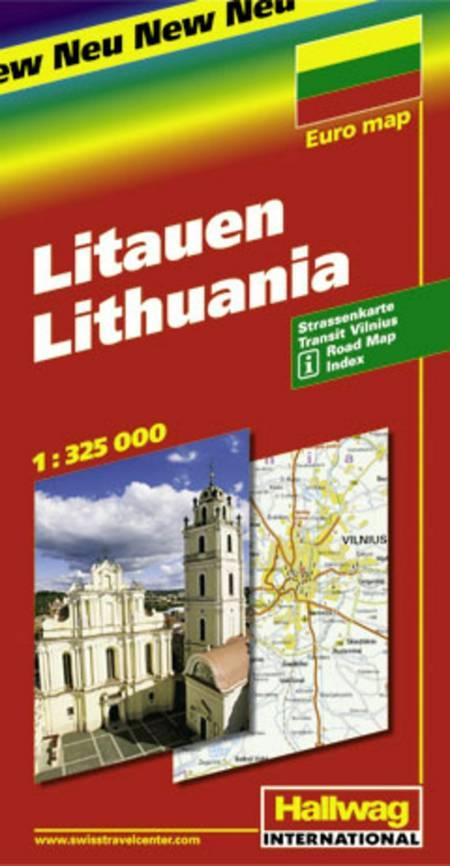 Hallwag, vejkort, Litauen