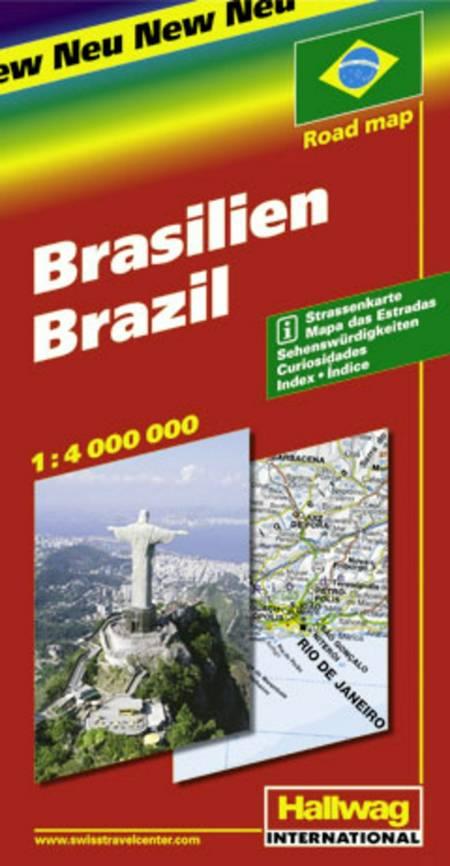 Hallwag, vejkort, Brasilien