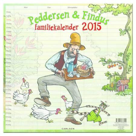 Peddersen familiekalender 2015 af Sven Nordqvist