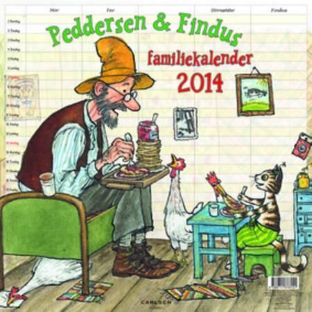 Peddersen familiekalender 2014 af Sven Nordqvist