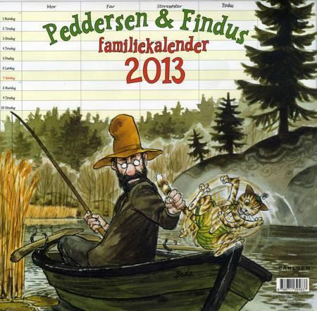 Peddersen & Findus familiekalender 2013 af Sven Nordqvist