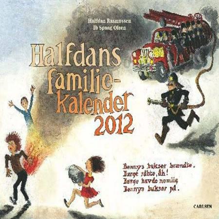 Halfdans familie kalender 2012 af Halfdan Rasmussen og Iben Nagel rasmussen