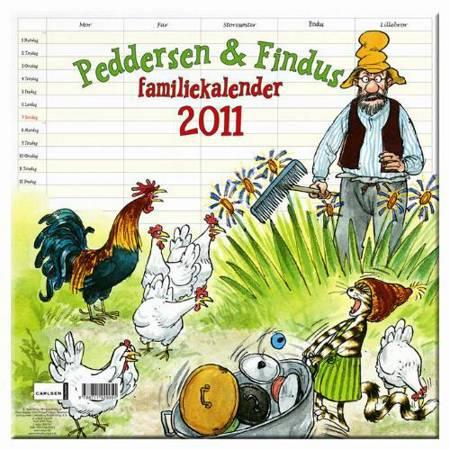 Peddersens Familiekalender 2011 af Sven Nordqvist