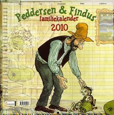 Peddersens familiekalender 2010 af Sven Nordqvist