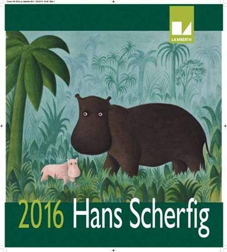Hans Scherfig kalender 2016