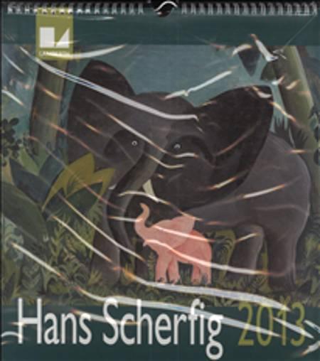 Hans Scherfig kalender 2013
