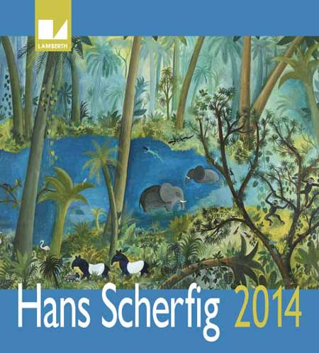 Hans Scherfig kalender 2014