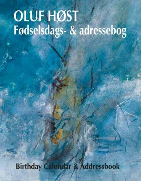 Oluf Høst Fødselsdags- og Adressebog