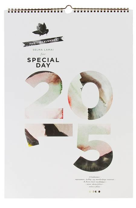 SpecialDay Familiekalender 2015 af SpecialDay