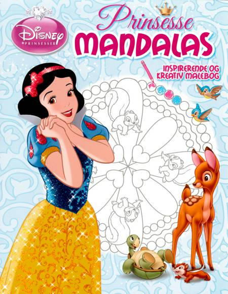 Disney - Prinsesse mandalas, Snehvide