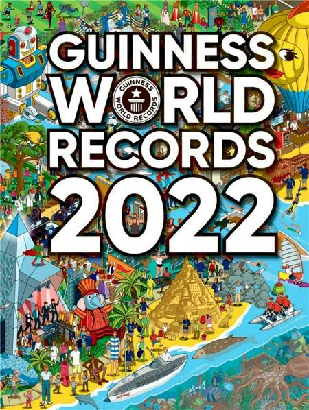 Guinness World Records 2022 af Guinness World Records