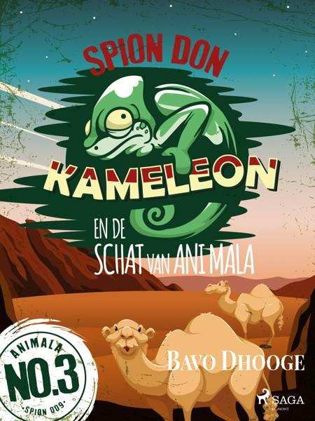 Spion Don Kameleon en de schat van Ani Mala af Bavo Dhooge