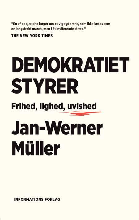Demokratiet styrer af Jan-Werner Müller