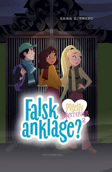Pigeliv MYSTERIER 2 - Falsk anklage af Sara Ejersbo Frederiksen
