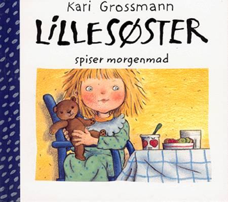 Lillesøster spiser morgenmad af Kari Grossmann