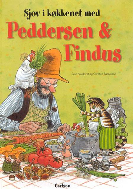 Sjov i køkkenet med Peddersen & Findus af Sven Nordqvist og Christine Samuelson