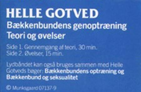 Bækkenbundens genoptræning af Helle Gotved