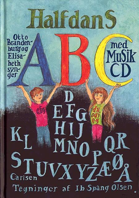Halfdans abc med musik cd af Halfdan Rasmussen