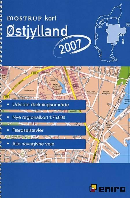Mostrup kort Østjylland