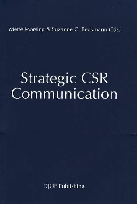Strategic CSR Communication