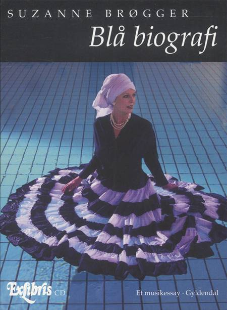 Blå biografi af Suzanne Brøgger