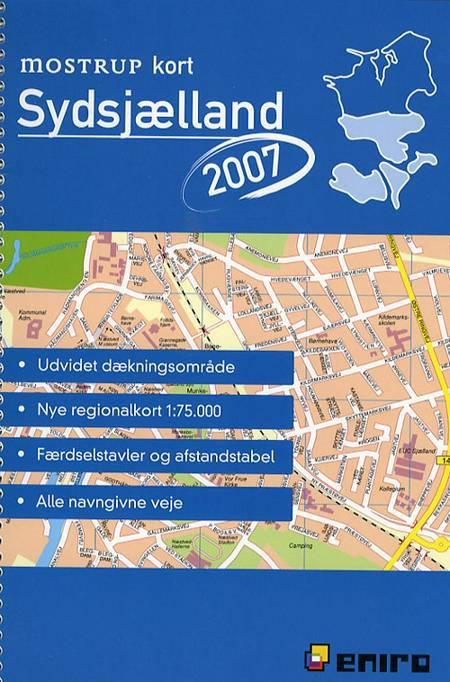 Mostrup kort Sydsjælland