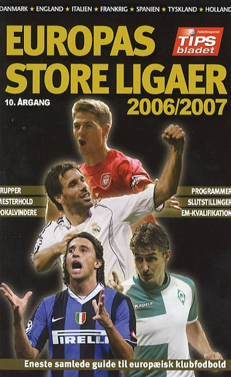 Europas store ligaer 2006/2007