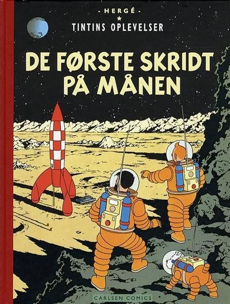 De første skridt på månen af Hergé