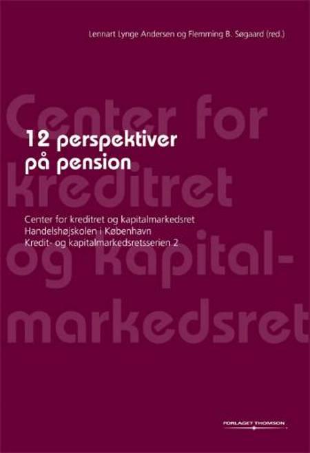 12 perspektiver på pension af Lennart Lynge Andersen