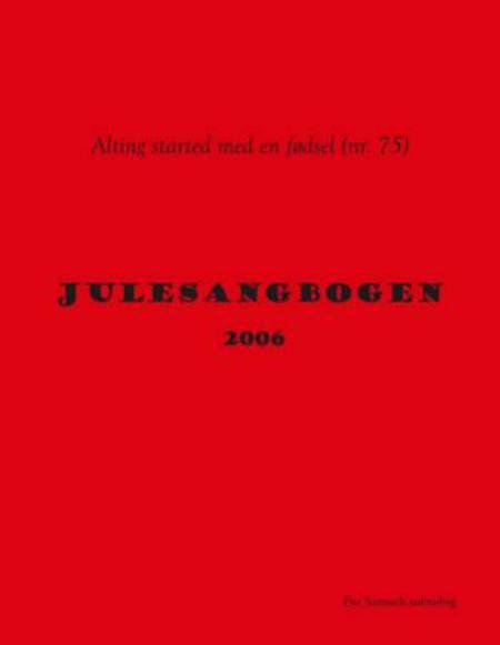 Julesangbogen 2006 af Samuel Færgemand Mikkelsen