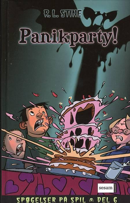 Panikparty! af R. L. Stine