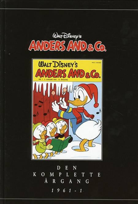 Walt Disney´s Anders And & Co. - Den komplette årgang 1961