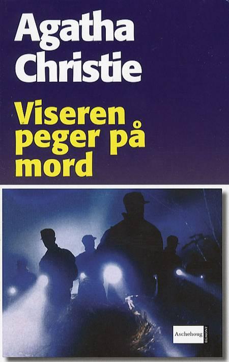 Viseren peger på mord af Agatha Christie