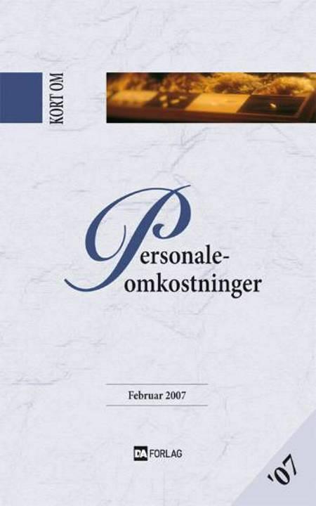 Kort om Personaleomkostninger af Hans P. Glendrup, Lise E. Bardenfleth, Sven Peter Nygaard, Anne-Marie Røge Krag og Ann B. Poulsen m.fl.
