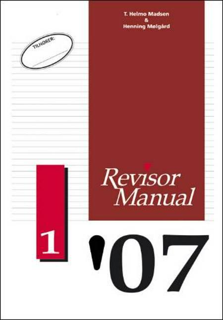 RevisorManual 2007/1 af Henning Mølgård og T. Helmo Madsen