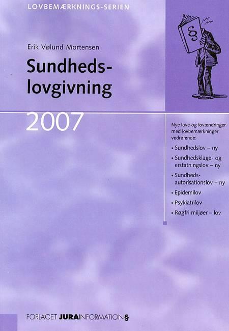 Sundhedslovgivning af Erik Vølund Mortensen