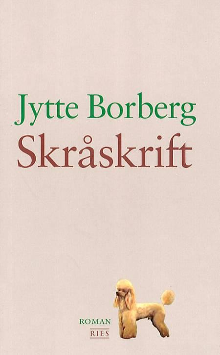 Skråskrift af Jytte Borberg