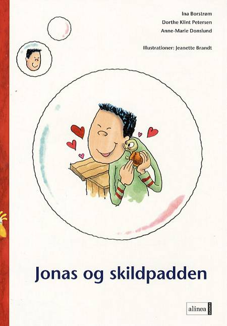 Jonas og skildpadden af Anne-Marie Donslund, Dorthe Klint Petersen og Ina Borstrøm