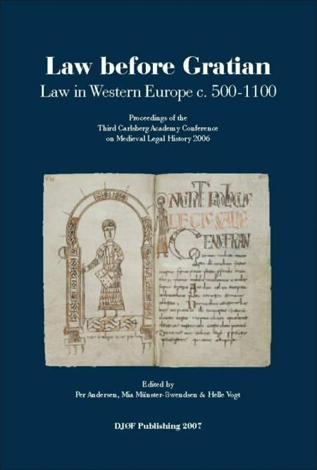 Law before Gratian af H. Vogt