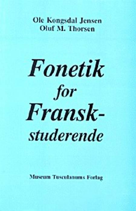 Fonetik for franskstuderende af Ole Kongsdal Jensen