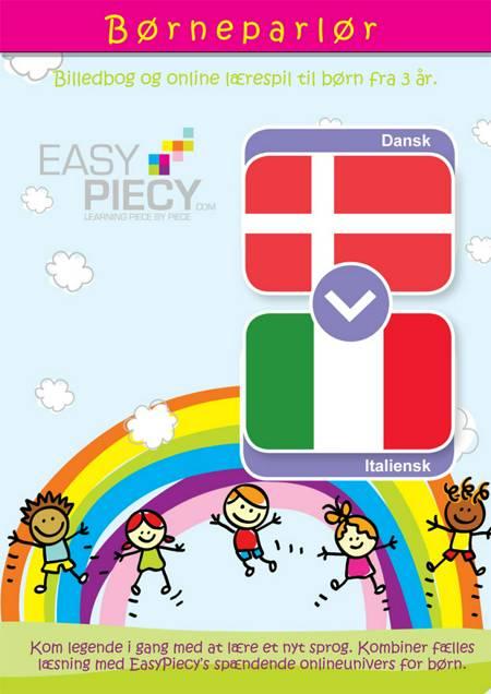 Børneparlør Dansk til Italiensk