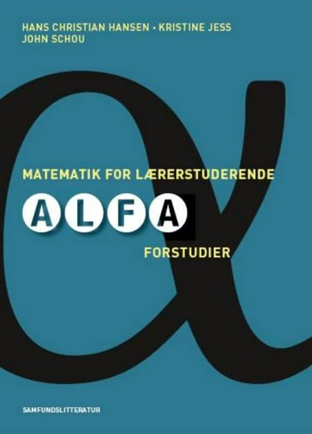 Matematik for lærerstuderende af Hans Chr. Hansen og Kristine Jess