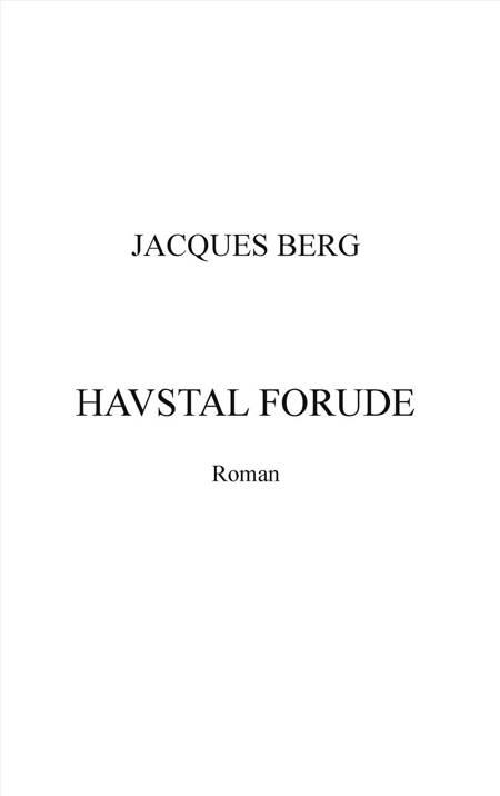 Havstal forude af Jacques Berg