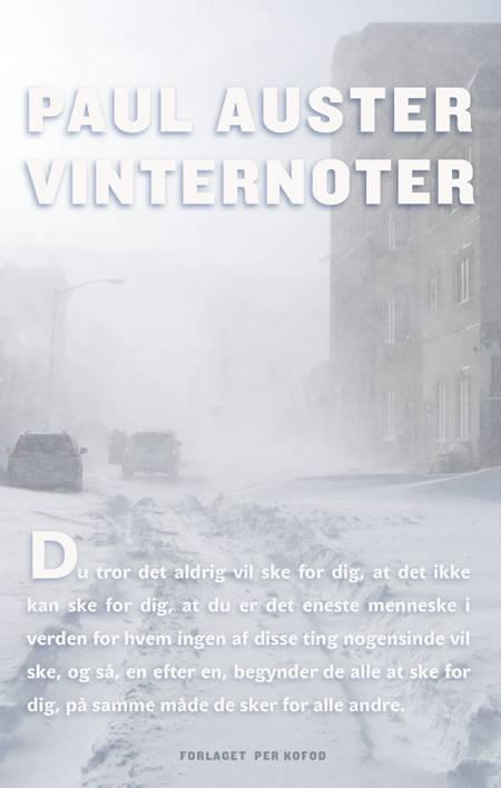 Vinternoter af Paul Auster