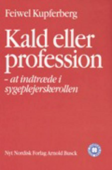 Kald eller profession af Feiwel Kupferberg