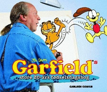 Garfields store 20-års fødselsdagsbog af Jim Davis