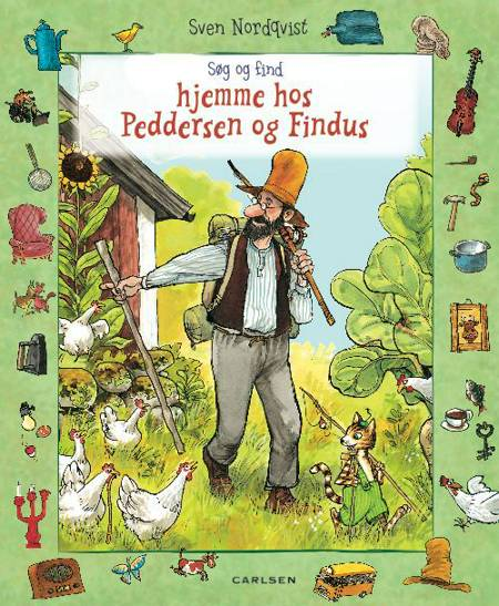 Søg og find hjemme hos Peddersen og Findus af Sven Nordqvist