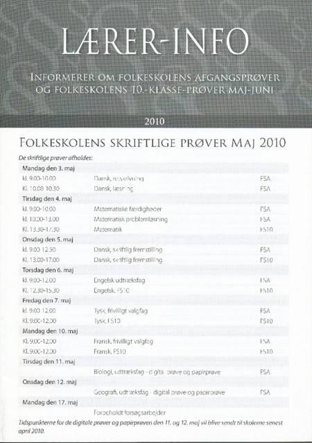 Lærer-info af Niels Plischewski og Ulla Sverrild