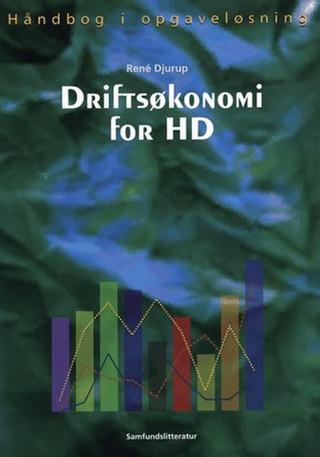 Driftsøkonomi for HD af René Djurup
