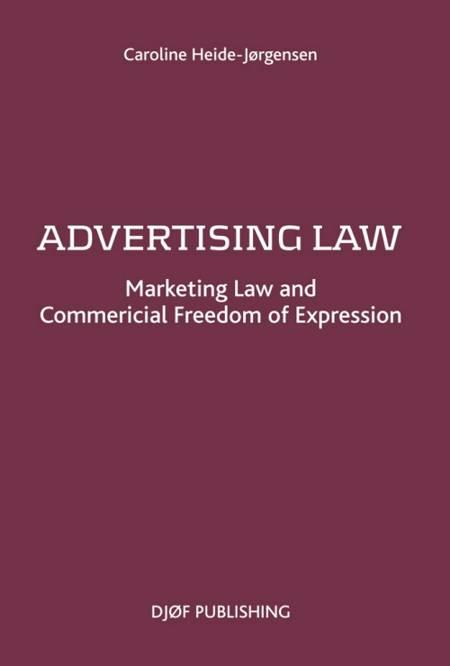 Advertising Law af Caroline Heide-Jørgensen